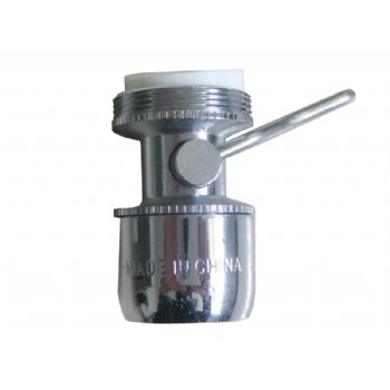 dual-spray kitchen aerartor with swivel and pause valve(ECO-305)